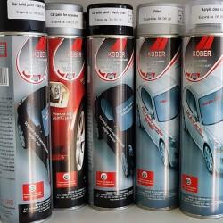 Spray vopsea Auto Negru Lucios