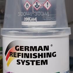 Vopsea Intermediara Filler Fuller German Refinising  System 2K set