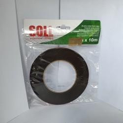 Banda dublu adeziva Soll-6mmx10m
