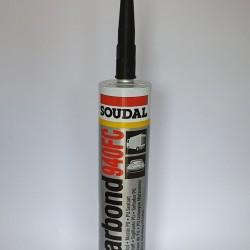 Mastic auto poliuretanic,elastic,Soudal,Carbond,940FC,negru