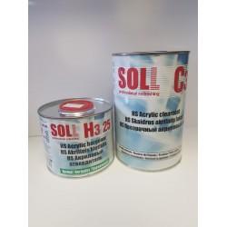 Lac acrilic HS, Soll, set