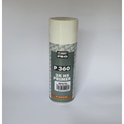 Spray Auto Body Filler Fuller Primer 2K HS- Alb