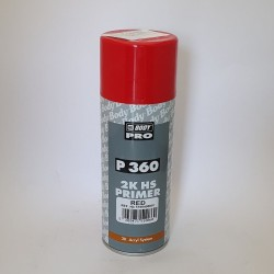 Spray Auto Body Filler Fuller Primer 2K HS- rosu