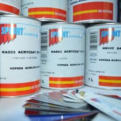 Vopsea Sprint, Ready Mix, Mercedes 744 SilverMetallic