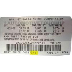 Vopsea Auto Mazda