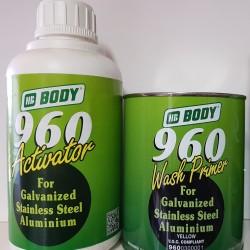 Body Filler Aluminiu Vopsea Intermediara Bicomponenta Primer pentru Galvanizate, Inox, Aluminiu