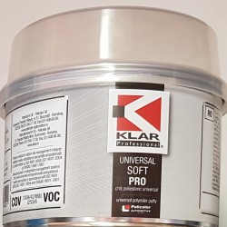 Chit Poliesteric Klar Soft 500 gr