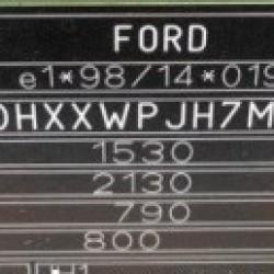 Vopsea auto Ford